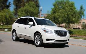 2013 buick enclave first test motor trend