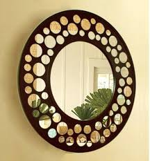 sun mirror wall art diy decor mirrors circle acrylic plastic home