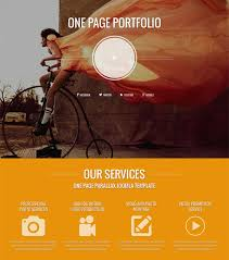 responsive design joomla this portfolio joomla template has a one page design a responsive