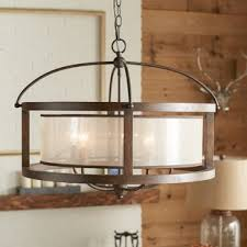 Dining Room Light Fixtures Rustic Chandeliers You Ll Wayfair With Dining Room Light
