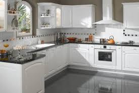 cuisine blanche moderne idée relooking cuisine armoire de cuisine blanche moderne