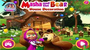 masha and the bear house decoration game masha and the bear