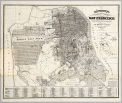 Map Of San Francisco by Guide Map Of City And County Of San Francisco David Rumsey