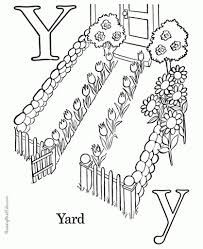 letter y coloring pages pertaining to invigorate in coloring page