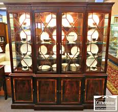 Break Front Cabinet Cabinets U0026 Breakfronts Baltimore Maryland Furniture Store