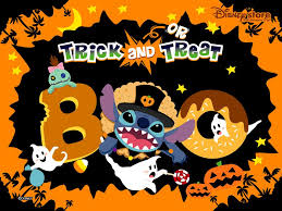 wallpapers de halloween my free wallpapers cartoons wallpaper stitch halloween
