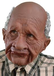old man old man loveable grandpappy supersoft mask adult men s costume