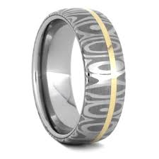 damascus steel wedding band damascus wedding ring set sapphire ring with damascus ring