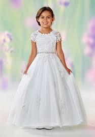 communion dresses nj joan calabrese by mon cheri flower girl dresses