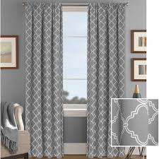 Curtain Ring Clips Walmart Better Homes And Gardens Trellis Room Darkening Curtain Panel
