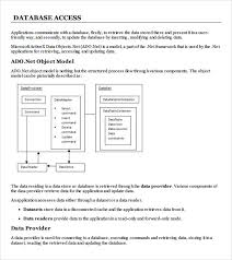 sample access database 7 documents in pdf