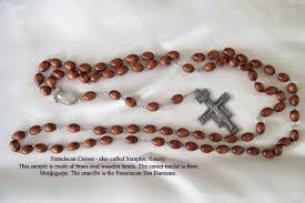 franciscan crown rosary chaplets