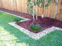 yard borders and edging ideaspebbles for garden large stones