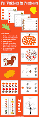 fall worksheets for preschoolers png
