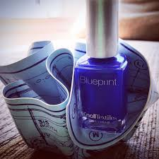 contest win blueprint nail polish from knolltextiles