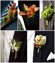 Wedding Boutonniere Ideas For Unique Wedding Boutonnieres And Corsages