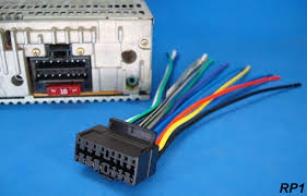 new sony xplod 16 pin radio wire harness car audio stereo power