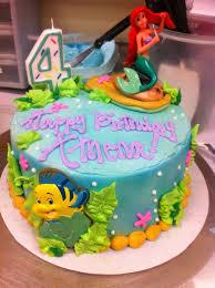 ariel birthday cake for u0027s birthday party u2014 marifarthing blog