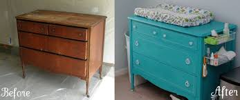Dresser Into Changing Table How We Decorated The Nursery Without Breaking The Bank