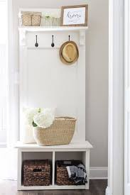 small mudroom bench an entryway hall tree bench that is perfect for providing
