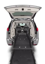 indiana driving manual handicap accessible vehicles the chrysler pacifica rear entry