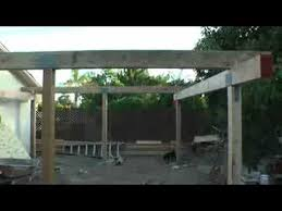 Yard Patio Back Yard Patio Cover Video 2 Youtube
