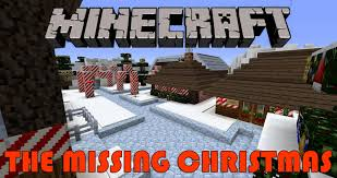 minecraft the missing christmas adventure map part 1 youtube