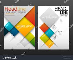 flyer design business brochure flyer design template vectorgeometric stock