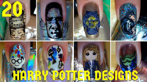 harry potter halloween feast background 20 magical harry potter nail art designs nail art compilation 3