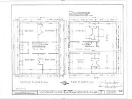 classy ideas colonial home blueprints 13 plan 44045td center hall