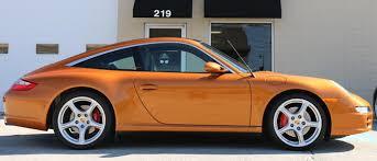 gold porsche 911 porsche 911 targa 4s for sale 2007 model w nordic gold exterior