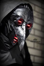 plague doctor masks incurable cyber plague doctor mask by twohornsunited on deviantart