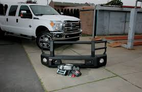 Classic Ford Truck Bumpers - 2015 ford f 250 arb bumper u0026 warn winch install to protect and pull