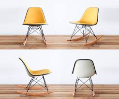 a great rocker that can fit in small nurseries classic eames rsr