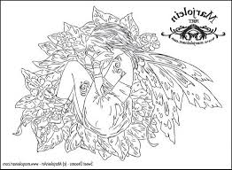 fairy art did find one free coloring page marjolein site 488044