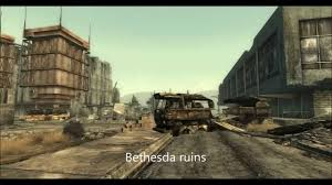 Map Of Fallout 3 by Fallout 3 Real Life Locations Comparison Youtube