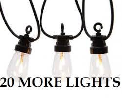 lumineo clear led festoon lights gardensite co uk
