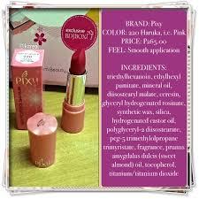 Lipstik Pixy Silky Fit 7 day challenge pixy s haruka lipstick kcreol