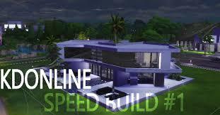 Ultra Modern by Ultra Modern B U0026w House Speed Build 1 Sims 4 Youtube