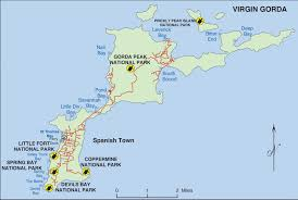 Map Of The Virgin Islands Map Of Virgin Gorda Virgin Gorda U2022 Mappery