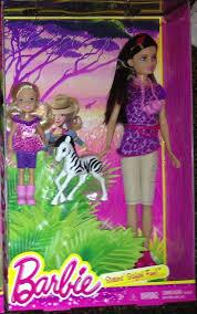 sisters u0027 safari fun barbie u0026 stacie skipper u0026 chelsea dolls mib