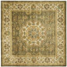 Square Wool Rug Put The Finishing Touch On Your Living Room With This Square Ivory