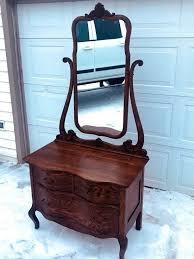 Bedroom Set With Vanity Dresser Antique Vanity Dresser Desk Drawers Mirror Bedroom Set Furniture