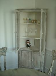 Kitchen Cabinet Magazine Free Standing Cream Wooden Kitchen Cabinet With Two Shelves Also