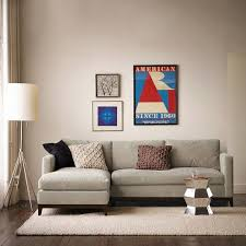 West Elm Sectional Sofa West Elm Chaise Sectional Sofa In Lower Manhattan New York
