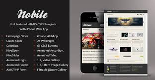 5 iweb app templates to alleviate your mobile browsing experience