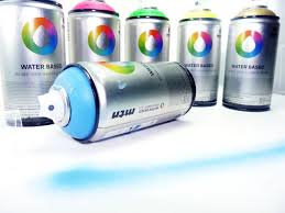 Spray Paint Non Toxic Montana Water Based Spray Paint 300ml Cans