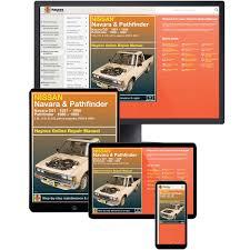 haynes manuals online nissan navara d21 pathfinder 2wd u0026 4wd