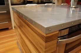 Zinc Kitchen Island - zinc countertops from mio metals kitchens 101