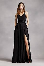 black dresses wedding bridesmaid dresses gowns shop all bridesmaid dresses david s